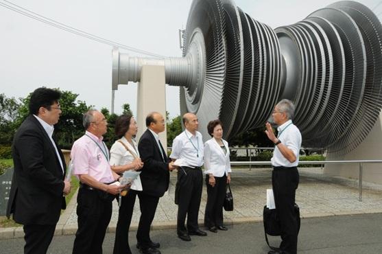 四国電力伊方原発についてお話聞きしました