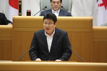 定例県議会にて初質問をさせて頂きました