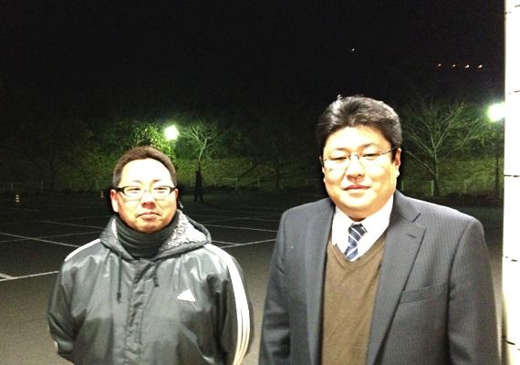 消防出初式の時にお会いし、私(戸高賢史)、渡辺真孝さんと記念撮影をしました