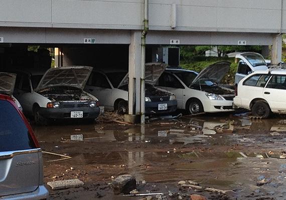 道路の冠水や停電、断水などの被害が相次